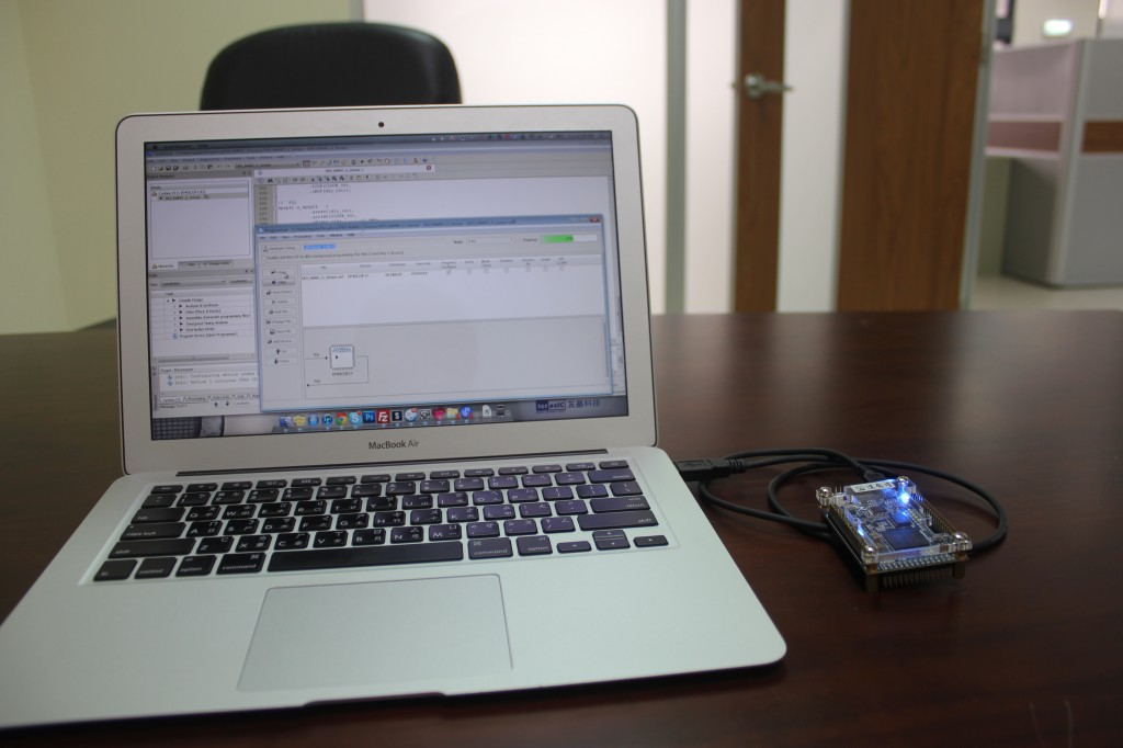Programming the DE0-Nano with a Macbook Air